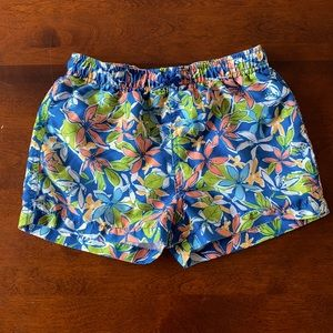 Zara Boys Tropical Swim Shorts - Size 8